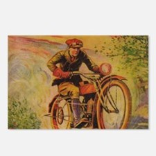 TSmotorcycle Postcards (Package of 8)