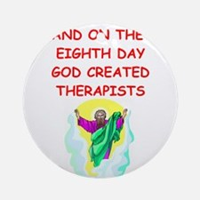 THERAPISTS.png Ornament (Round)