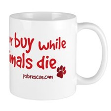 dont breed - red Mug