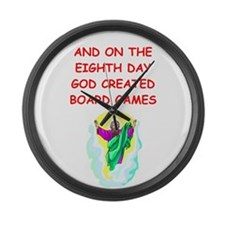 BOARDGAMES.png Large Wall Clock