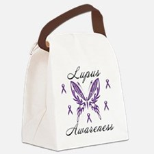 Lupus Awareness Canvas Lunch Bag