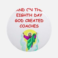 COACH.png Ornament (Round)