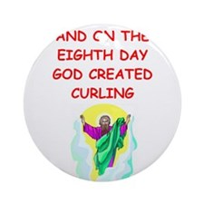 CURLING.png Ornament (Round)