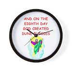 DUNEBUGGIES.png Wall Clock