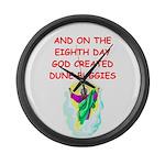 DUNEBUGGIES.png Large Wall Clock