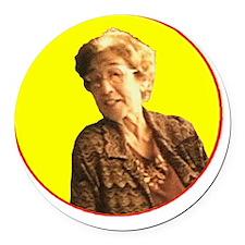 Grandma DeGennaro - Character Spo Round Car Magnet