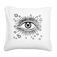 Eye Eyeball Square Canvas Pillow