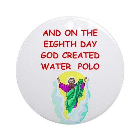 WATERPOLO.Png Ornament (Round)