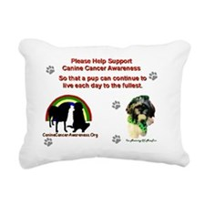 meetooadobe Rectangular Canvas Pillow