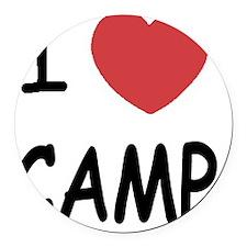 CAMP01 Round Car Magnet