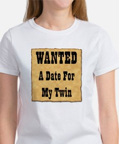 WANTED Date for Twin Tee