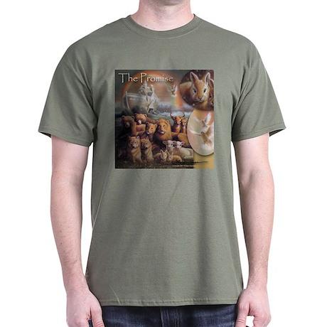 """""""Noah's Ark"""" The Promise Fine Art Dark T-Shirt"""