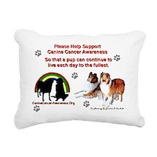londonadobe1 Rectangular Canvas Pillow