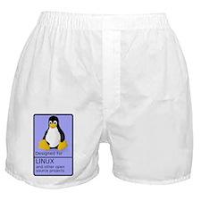 DesignedForLinux Boxer Shorts