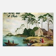 40acresAndAmule Postcards (Package of 8)