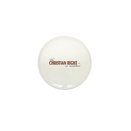 Christian Right Mini Button
