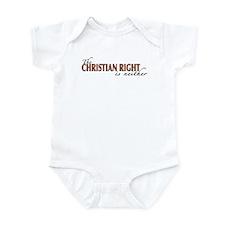 Christian Right Infant Bodysuit
