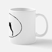 dobermansticker Small Small Mug