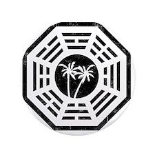 """Dharma Palm 3.5"""" Button"""