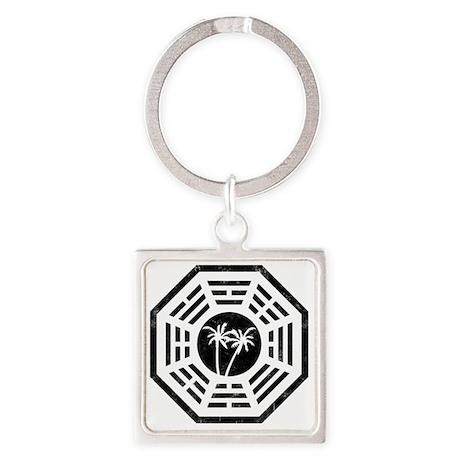 Dharma Palm Square Keychain