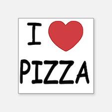 """pizza01 Square Sticker 3"""" x 3"""""""
