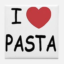 pasta01 Tile Coaster