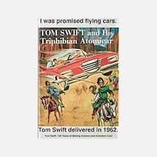 Flying Car Tom Swift Rectangle Magnet