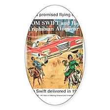 Flying Car Tom Swift Decal