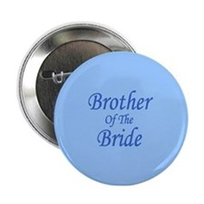 Brother Of The Bride Wedding Button