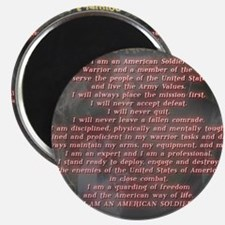 2-Soldiers Creed Magnet