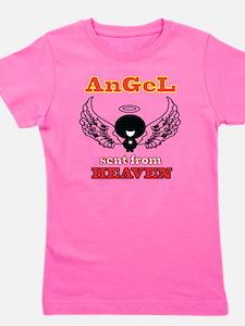 angel png 2 Girl's Tee