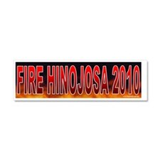 TX HINOJOSA Car Magnet 10 x 3