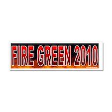 TX GREEN Car Magnet 10 x 3