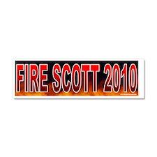 VA SCOTT Car Magnet 10 x 3