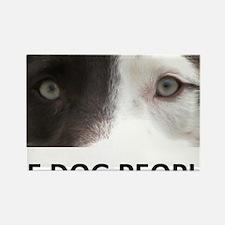 I SEE DOG PEOPLE Rectangle Magnet