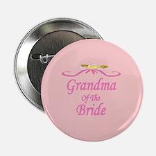 Grandma Of The Bride Wedding Button