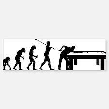 Billiard Player Bumper Bumper Sticker