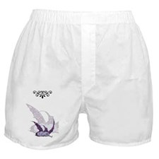 Sleeping Purple Dragonette Boxer Shorts