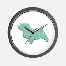 Paisley Norfolk Wall Clock