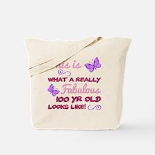 Cute 100th Tote Bag
