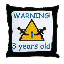 3yearboyR Throw Pillow
