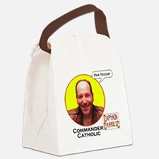 Commander Catholic - Character Sp Canvas Lunch Bag