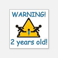 "2yearboyR Square Sticker 3"" x 3"""