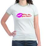 Who Do You Love Jr. Ringer T-Shirt