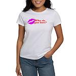 Who Do You Love Women's T-Shirt