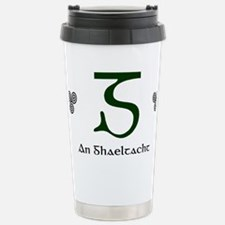 Gaeltacht3 Stainless Steel Travel Mug