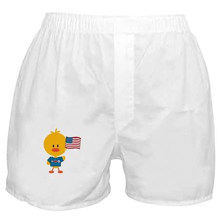 3-SoccerUSAChickDkT Boxer Shorts