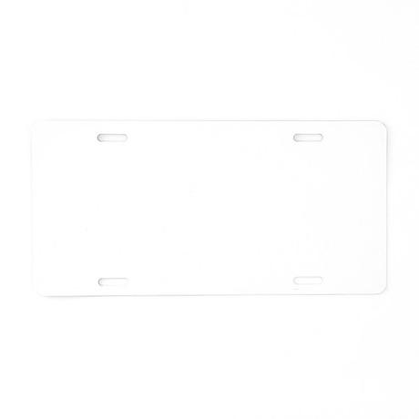 Curling Player copy Aluminum License Plate