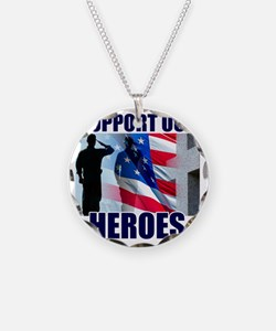 Support Our Heroes Necklace