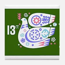 Vintage 1976 Bulgaria Holiday Dove Postage Stamp T